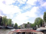 Taking a river cruise, Amsterdam. Category: Travel.