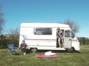 Meet Mandy, our motorhome. Read my write up on her via the Campervan Guide page.