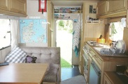 Interior of our motorhome. Read my write up on her via the Campervan Guide page.