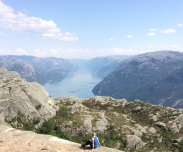 Walking Preikestolen (Pulpit Rock), Norway. Category: Travel.
